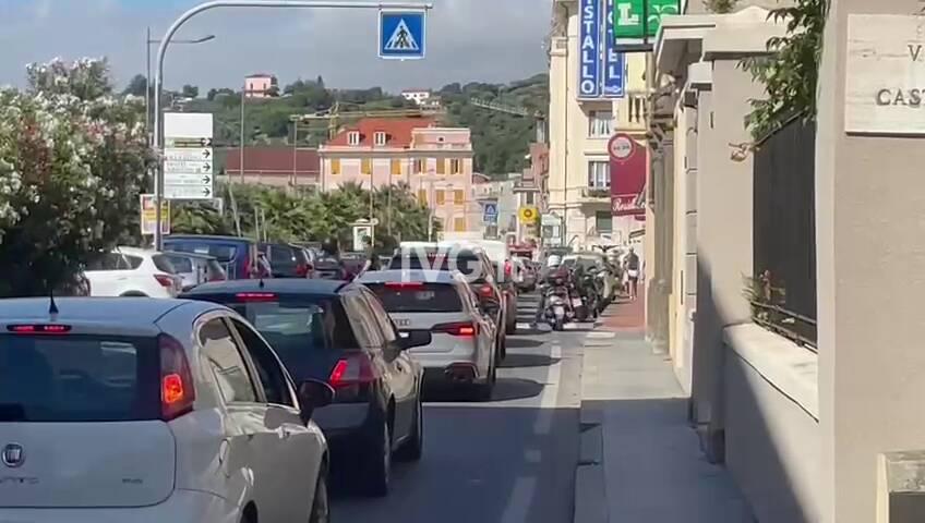 Traffico Varazze Celle Aurelia