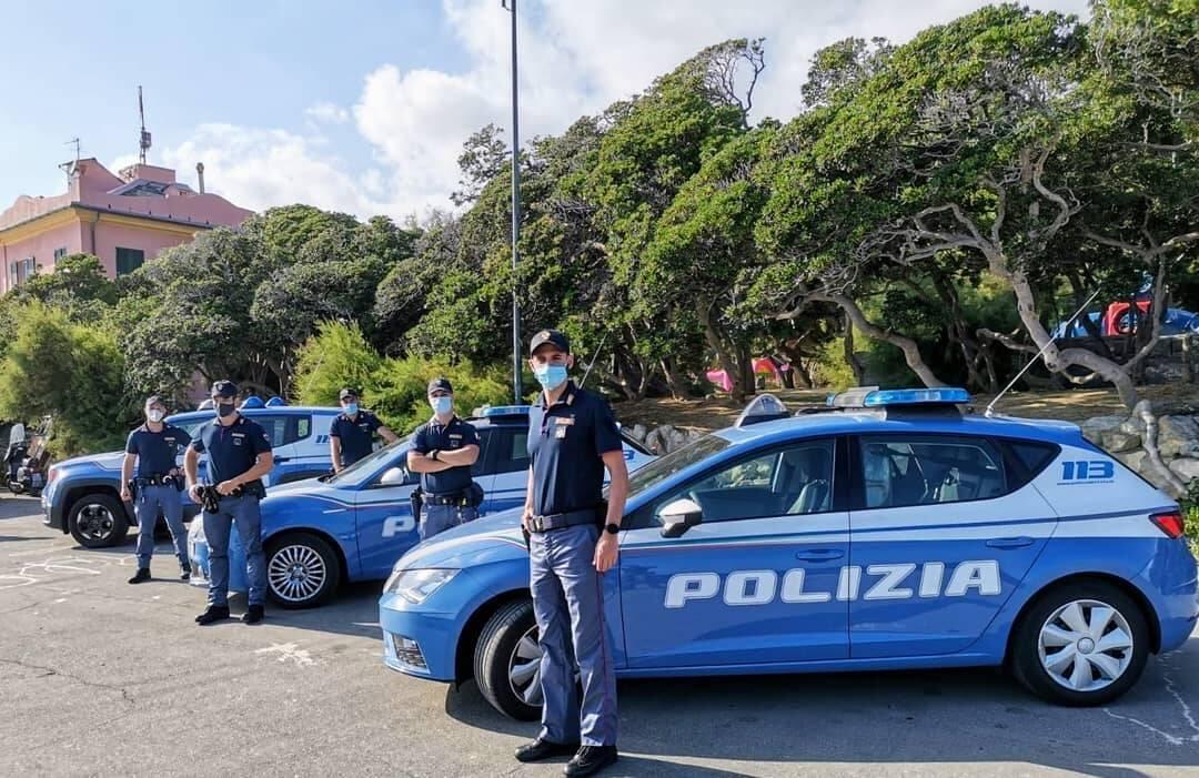 polizia, volante polizia, giardini quinto
