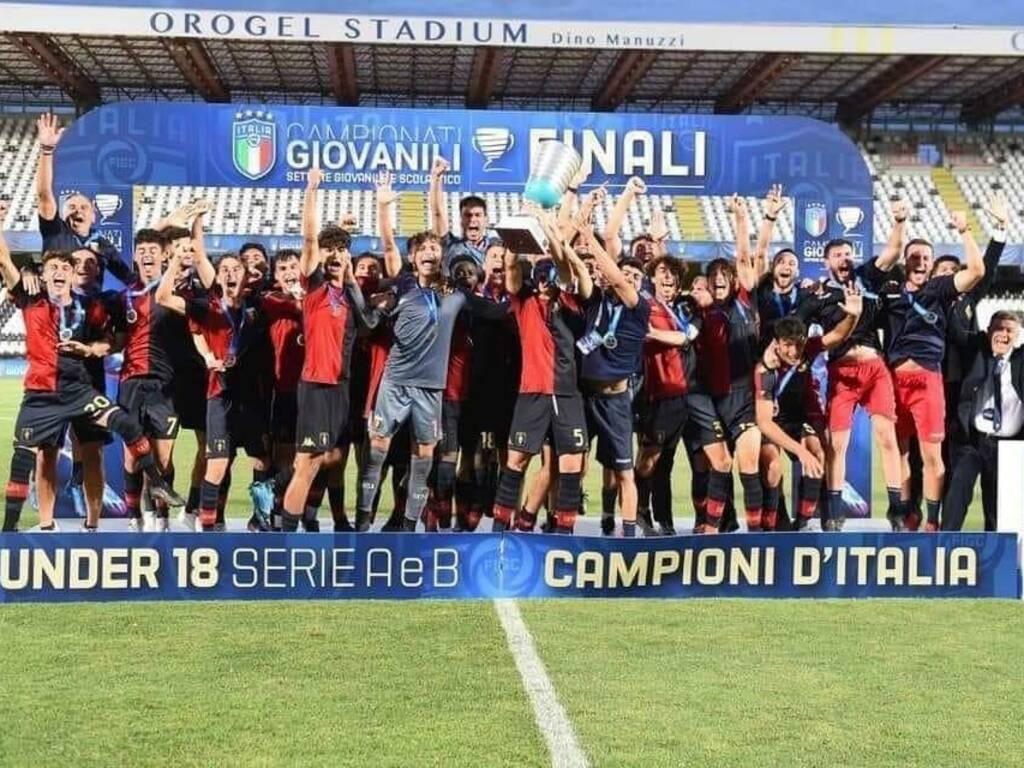 Genoa under 18 campione d'Italia