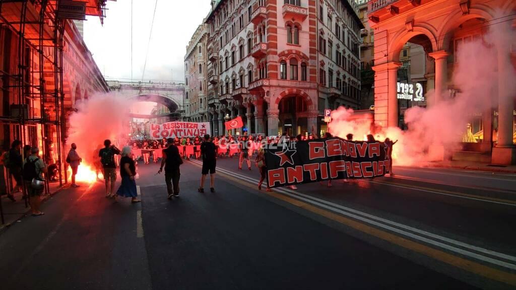 Genova Antifascista 30 giugno 2021