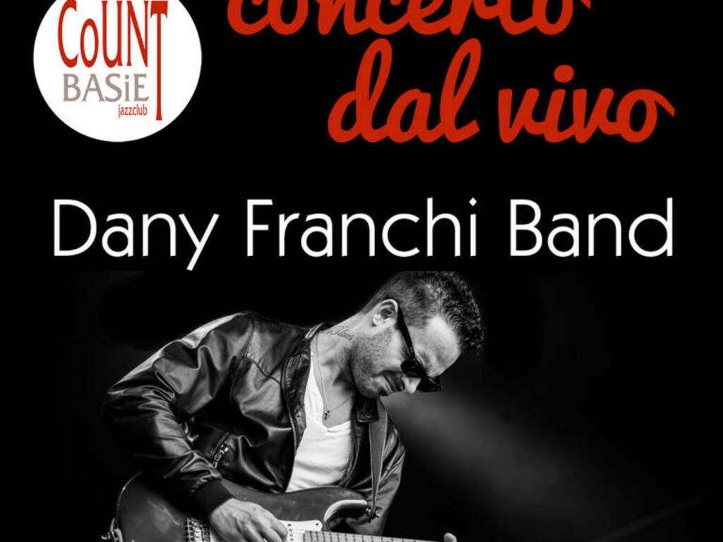 Genova concerto Dany Franchi Band per Count Basie Jazz Club