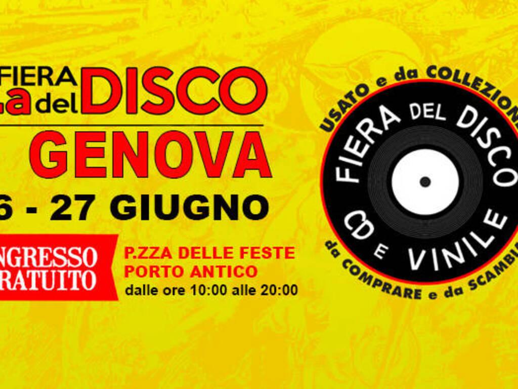 Genova Fiera del Disco 2021 Porto Antico