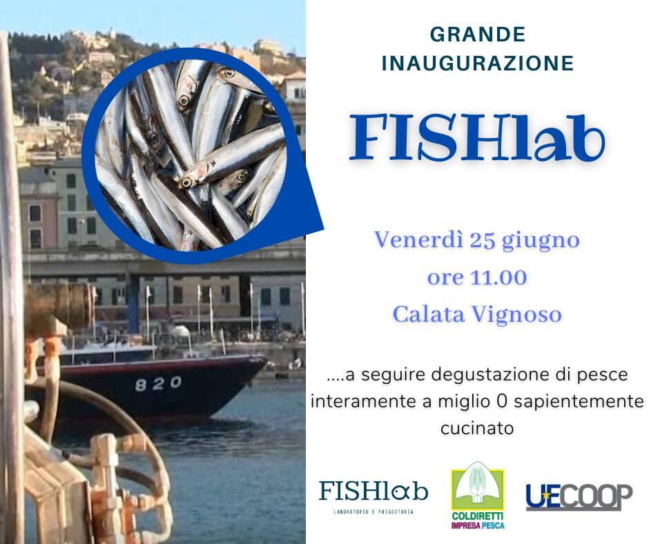 Genova inaugurazione FishLab laboratorio pesce miglio zero