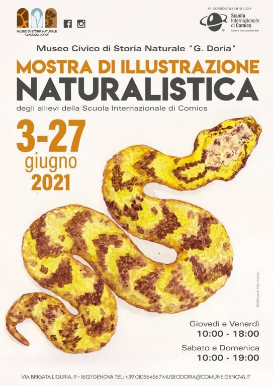 """Genova """"Mostra di illustrazione naturalistica"""" Museo Doria"""