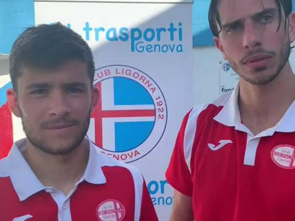 Gianluca Cusato e Michael Orlando
