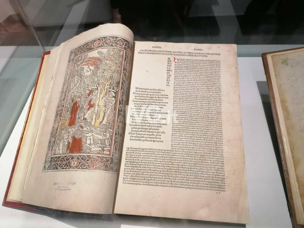 I Tesori Danteschi della Biblioteca Barrili