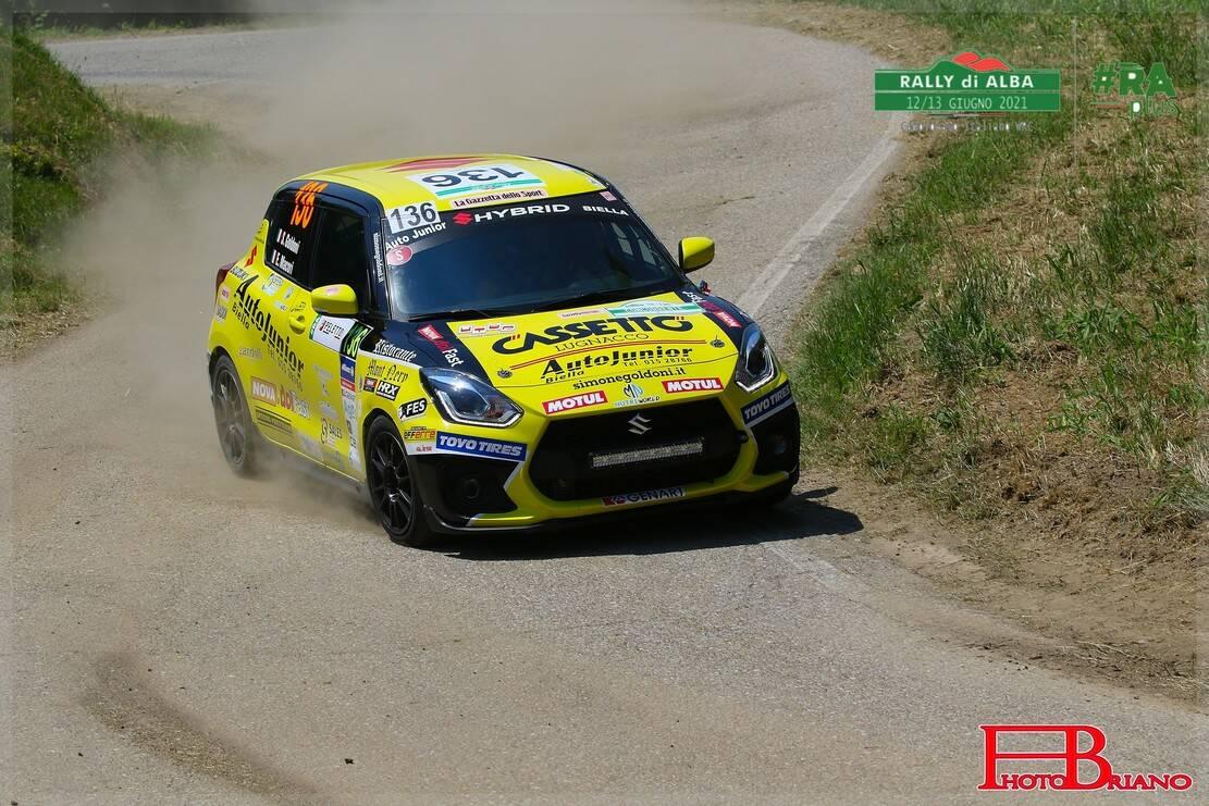 Lo shakedown del 15° Rally di Alba