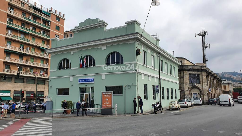 Marassi, ecco la nuova sede della polizia locale in via Canevari: ecologica e anti-alluvione