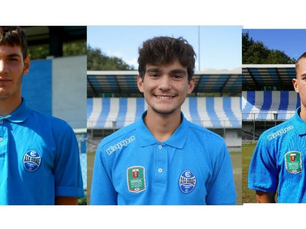 Matteo Bonifazio, Andrea Genduso e Daniele Gloria