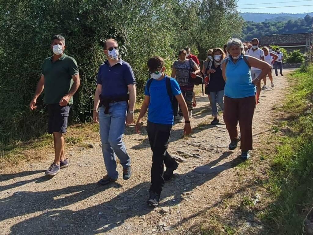 merenda nell'oliveta Andora