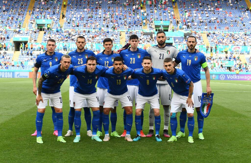 nazionale italia azzurri galles euro 2020