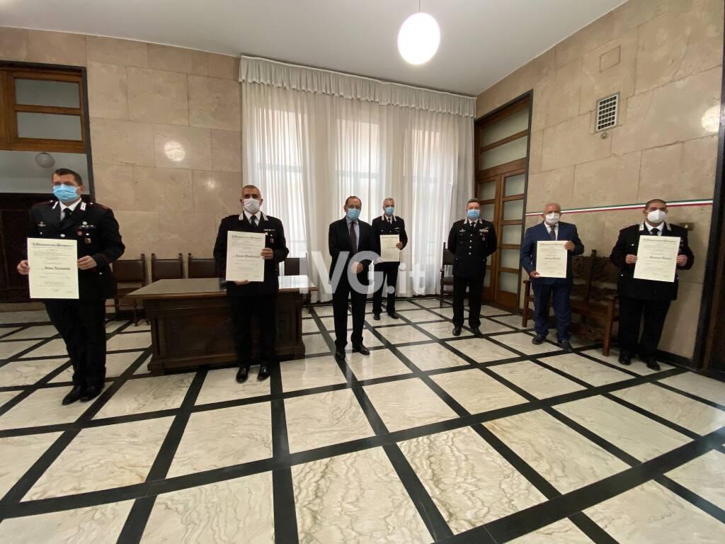 Onorificenze carabinieri