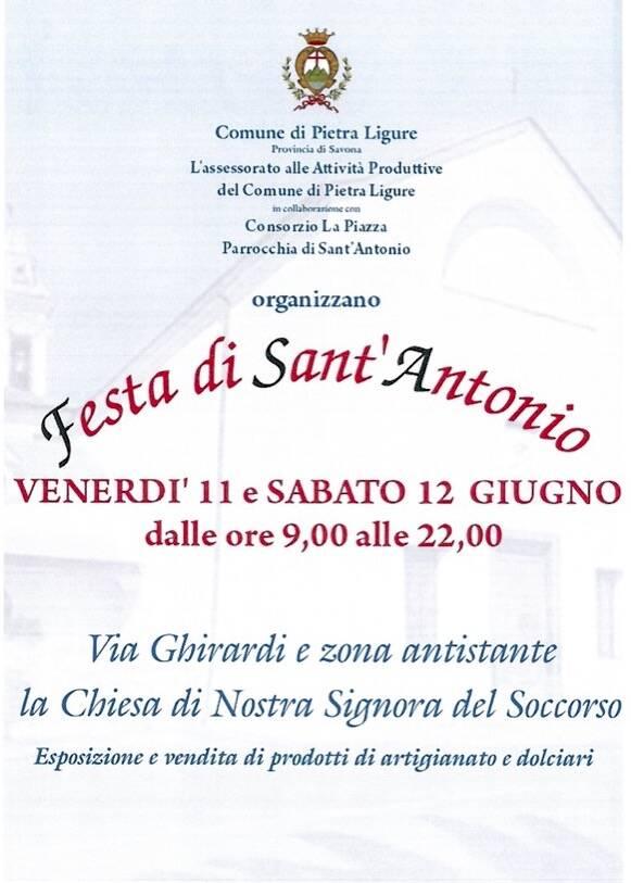 Pietra Ligure Festa Sant'Antonio 2021