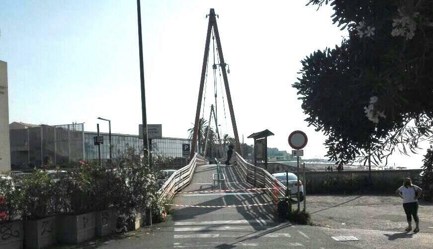 ponte ruffino chiuso savona foce Letimbro