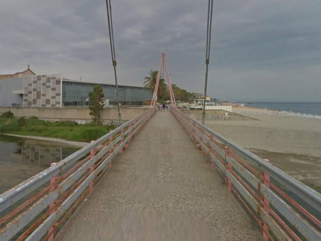 ponte Ruffino foce Letimbro savona