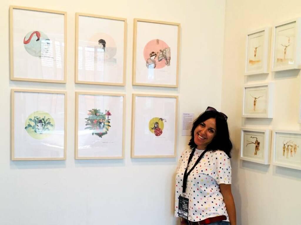 """Save the planet"" mostra d'arte di Mariangela Artese"