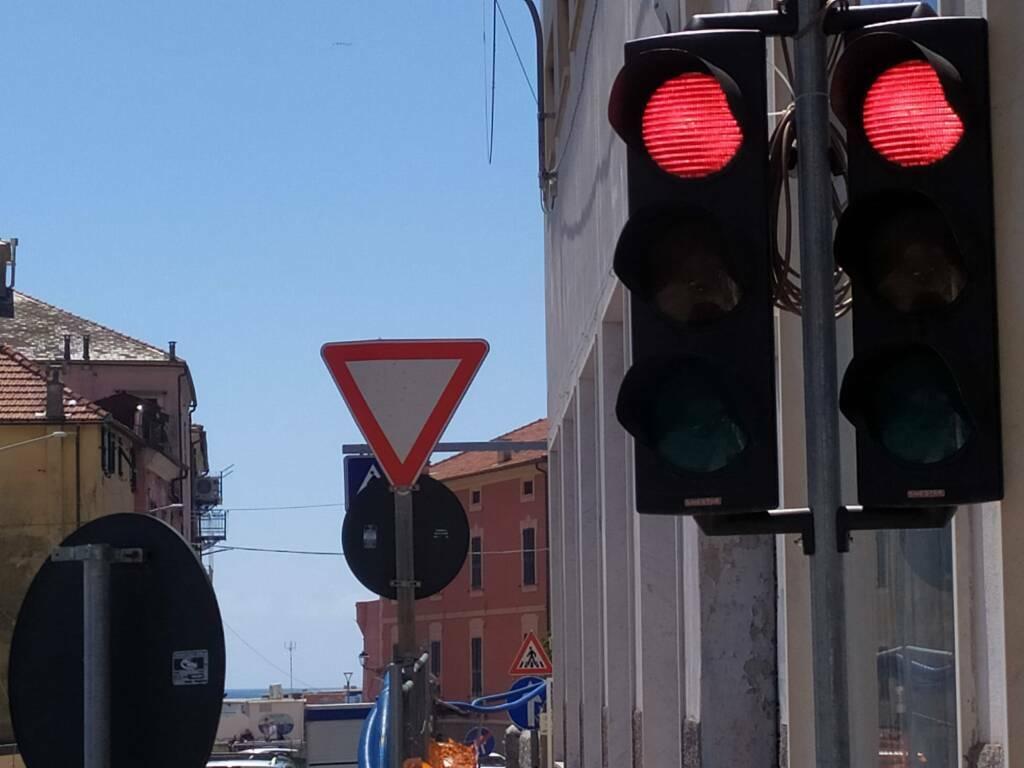 Semaforo Santa Brigida