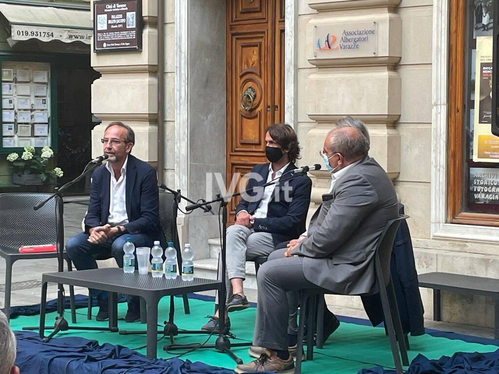Senatore Nencini a Varazze per presentare il suo libro su Matteotti