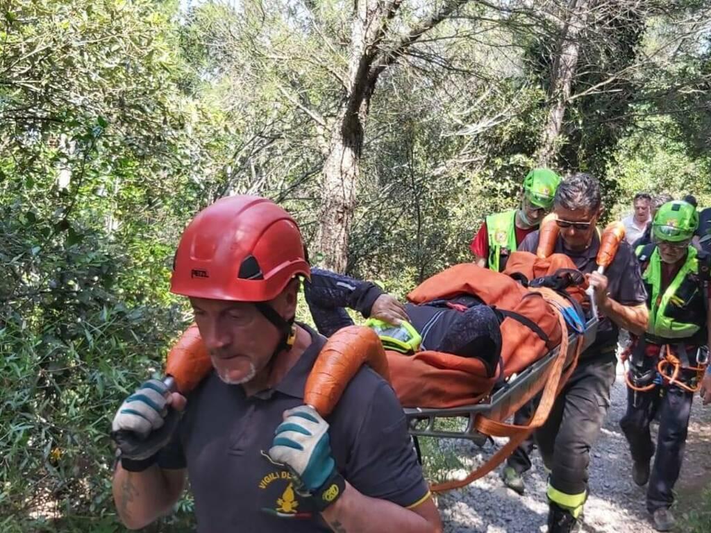 soccorso alpino generica vigili fuoco