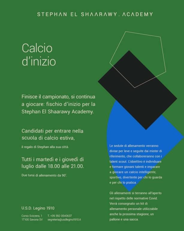 Stephan El Shaarawy Academy