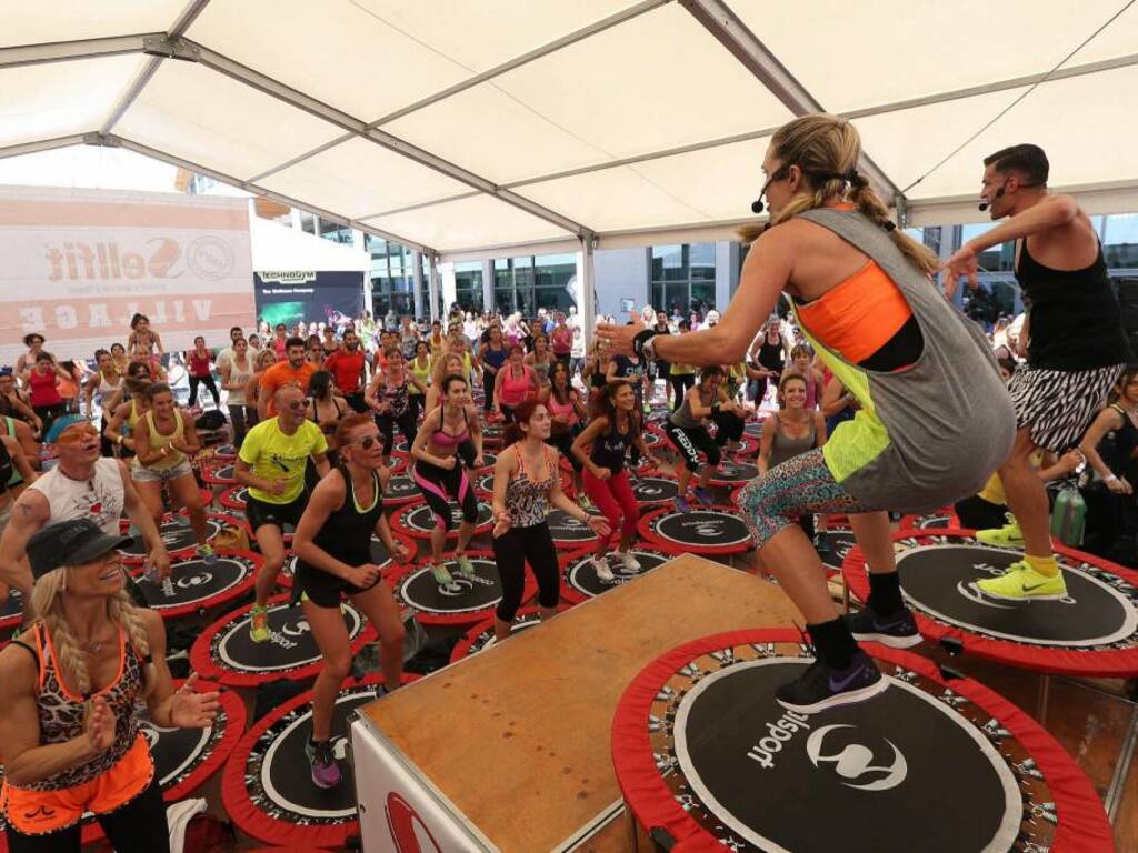 SuperJump personal trainer Jill Cooper