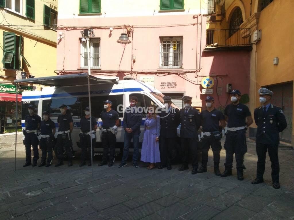 unità mobile polizia locale