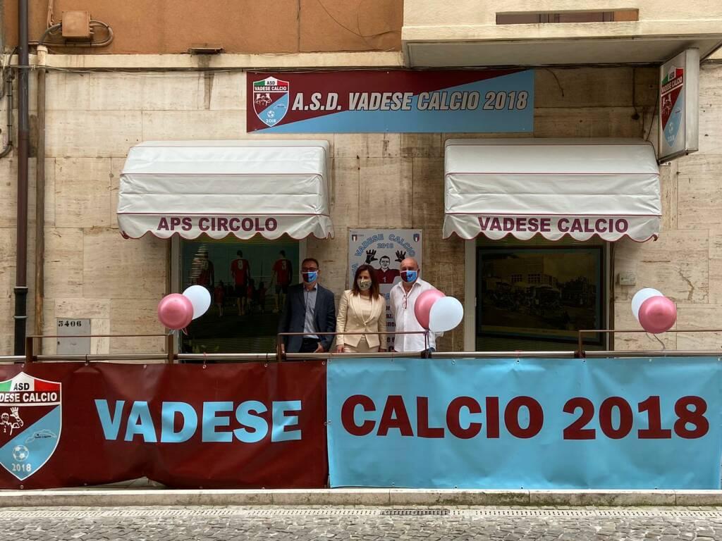 Vadese Calcio 2018: l'inaugurazione della nuova sede
