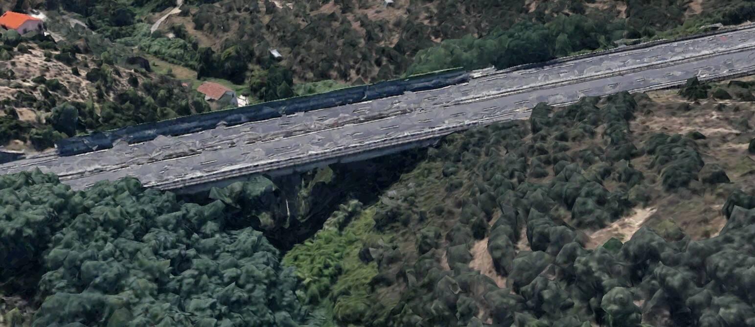 viadotto costa rossa a12 sestri ponente