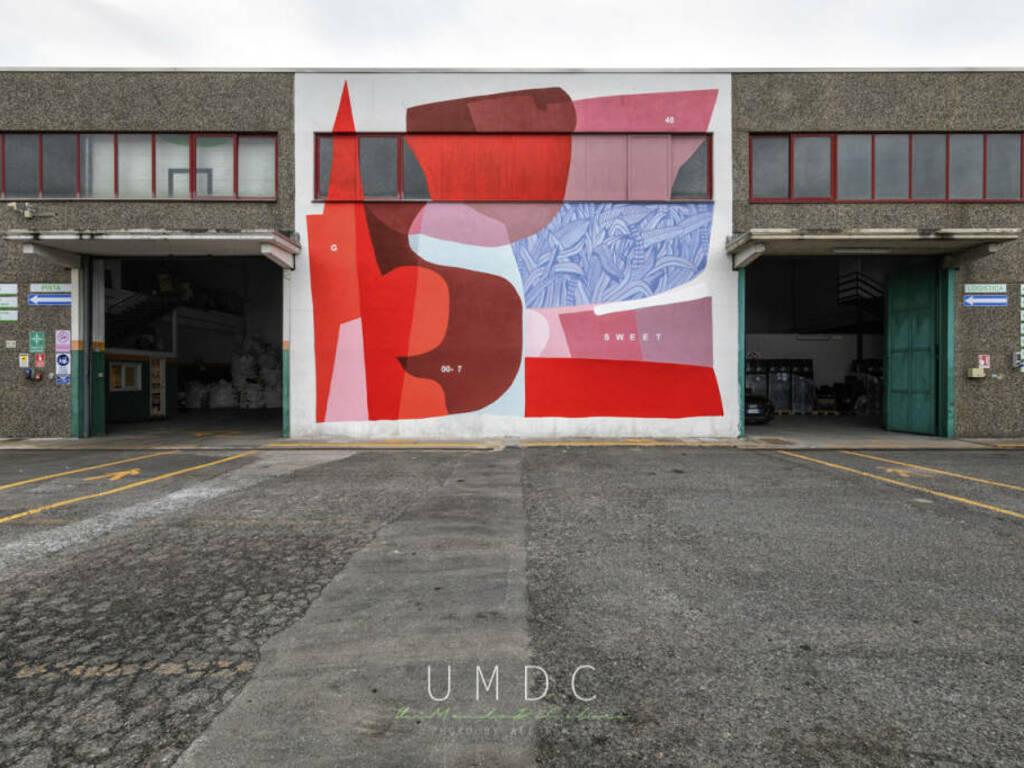 Villanova d'Albenga murale Giulio Vesprini Baseco Gallery