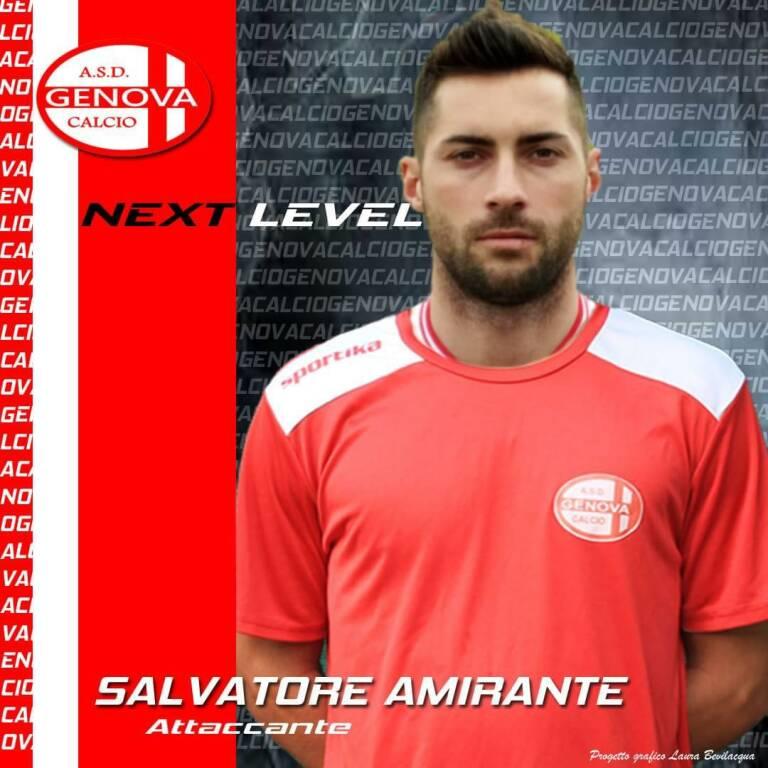Amirante alla Genova Calcio
