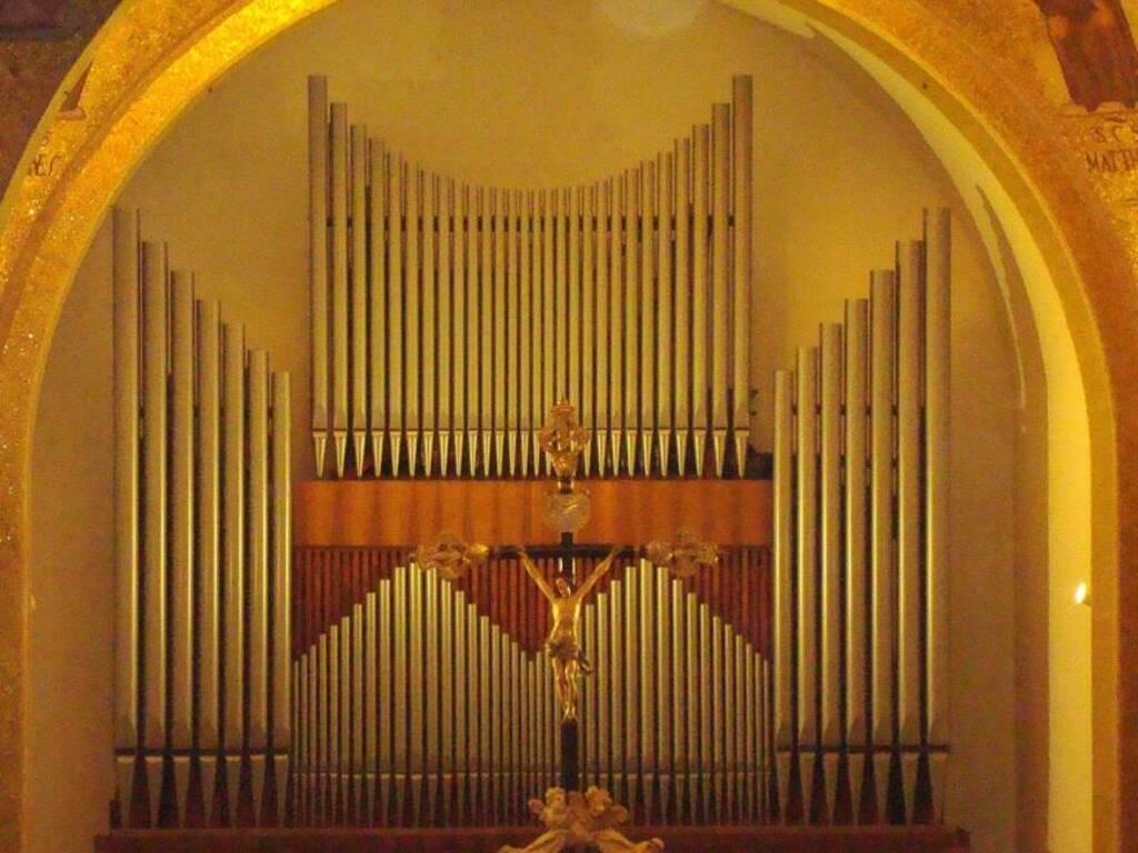 Recco organo Chiesa San Giovanni Battista