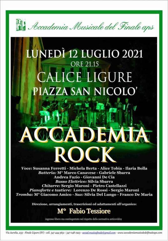 Calice Ligure concerto Accademia Rock luglio 2021