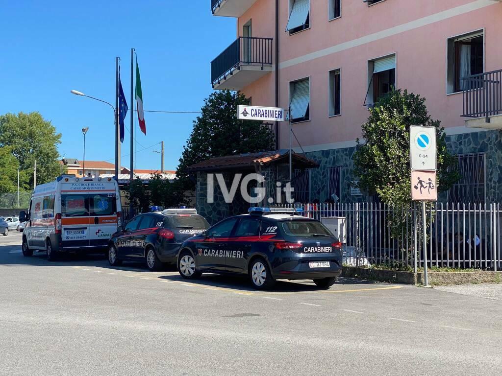 carabinieri 118 generica cairo ambulanza