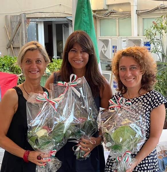 Assessore Simona Ferro a Rapallo