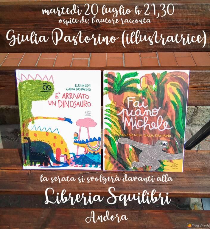Serata con Giulia Pastorino illustratrice di libri per bambini