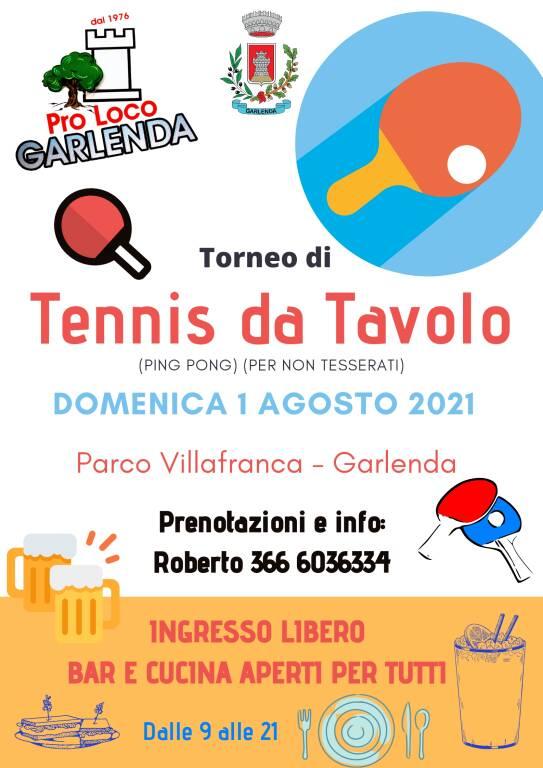 Torneo di Tennis da Tavolo