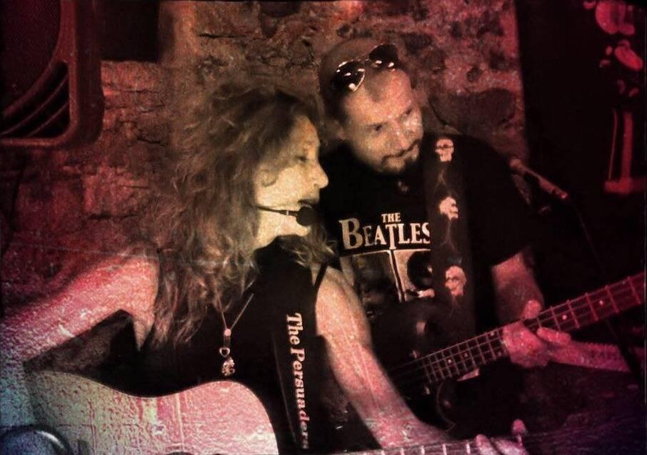 The Persuader duo musicale Annie Marsala e Simone Perata