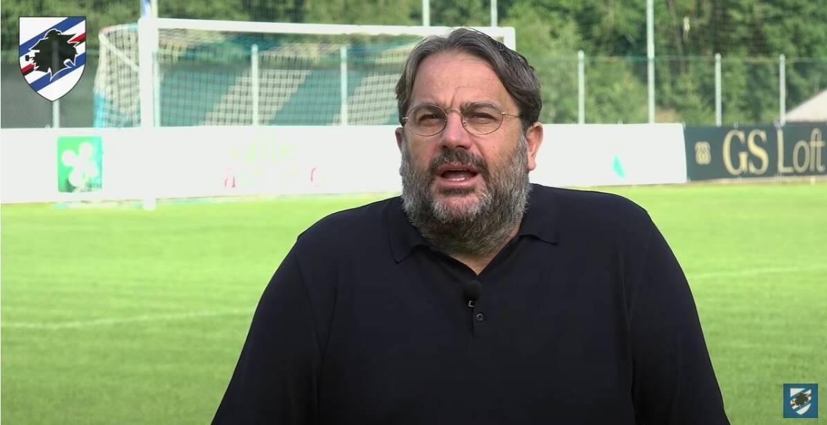 Daniele Faggiano ds Sampdoria