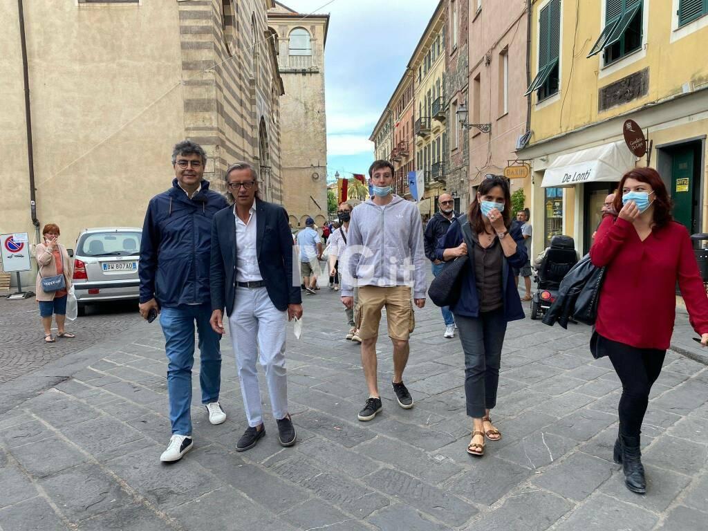 Emanuele Fiano ad Albenga