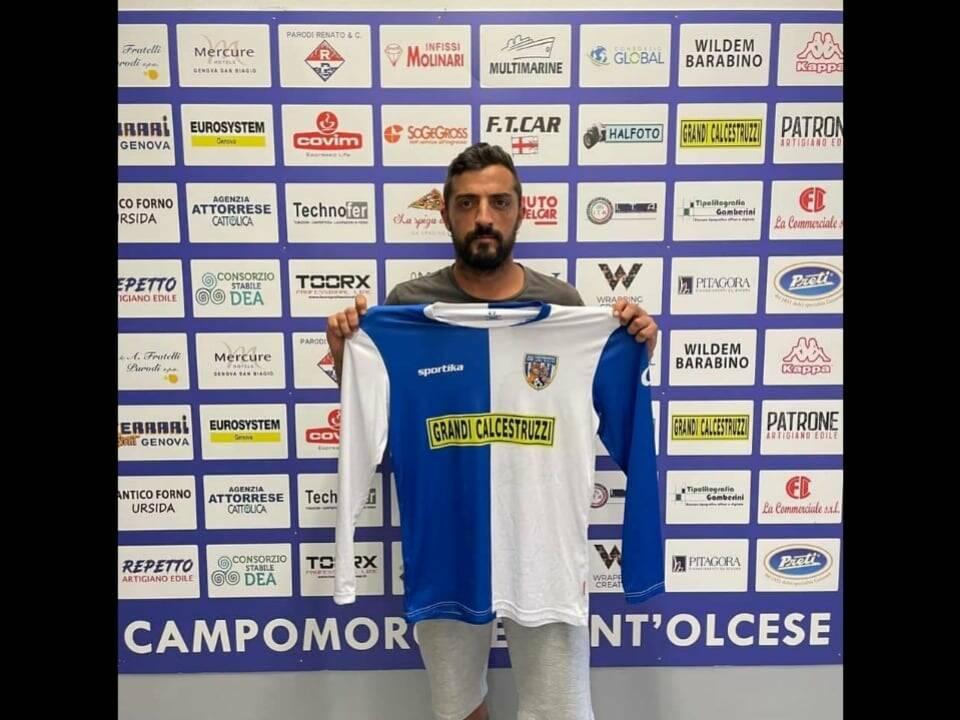 Fabio Concas al Campomorone