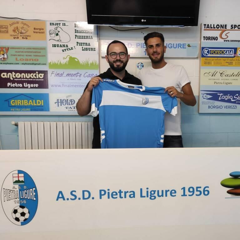 Fabio Rignanese resta al Pietra Ligure