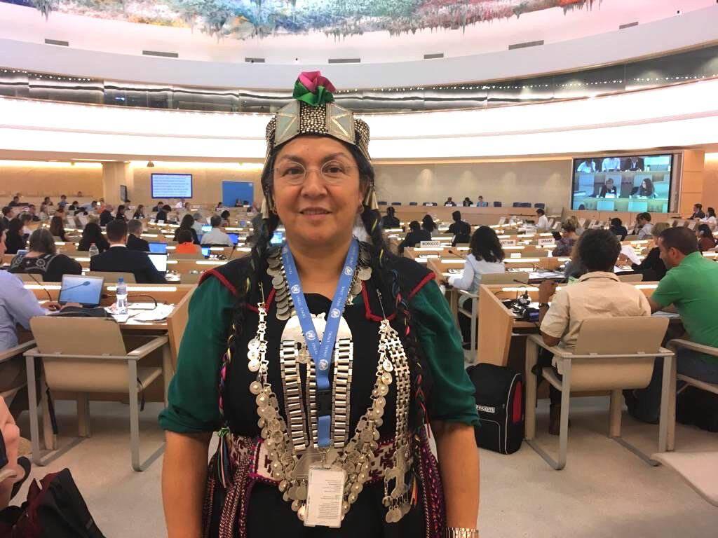 Flor Agustina Calfunao Paillalef ambasciatrice Mapuche Nazioni Unite
