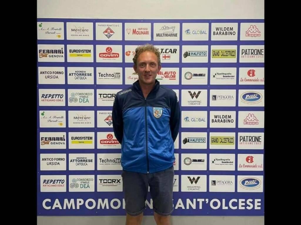 Francesco Rizzo preparatore atletico Campomorone