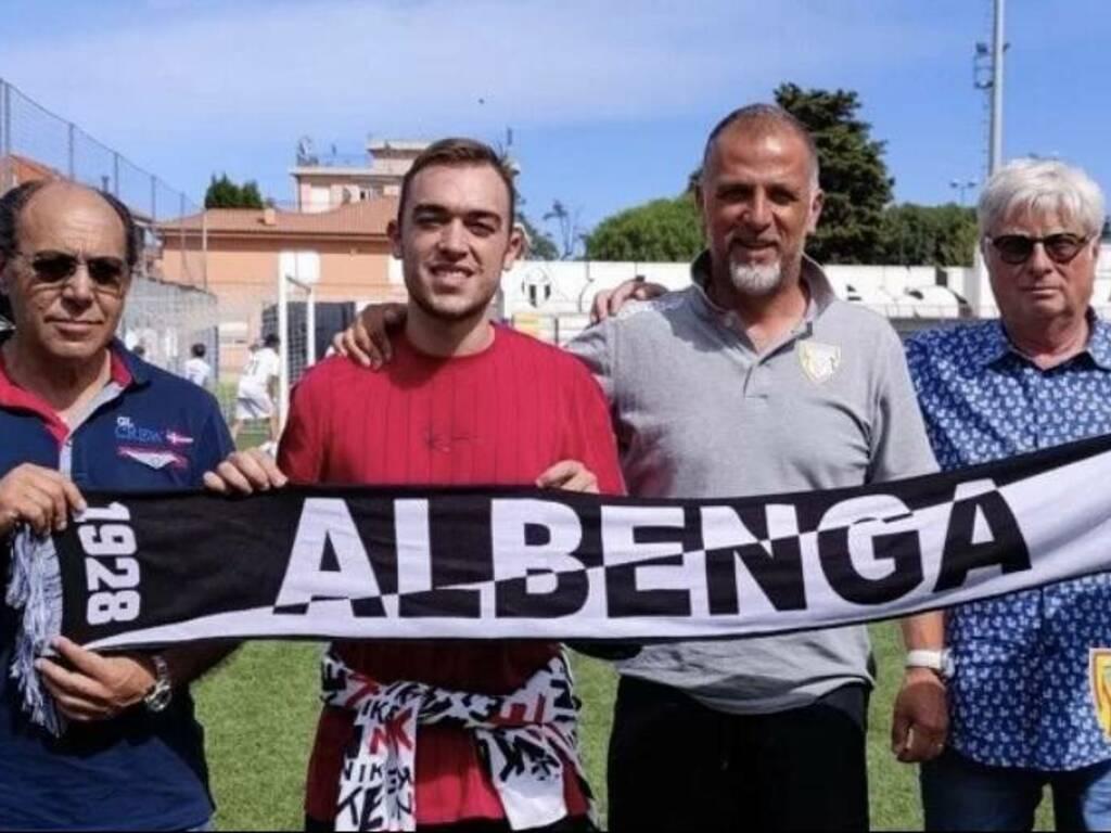 Francesco Vernice all'Albenga