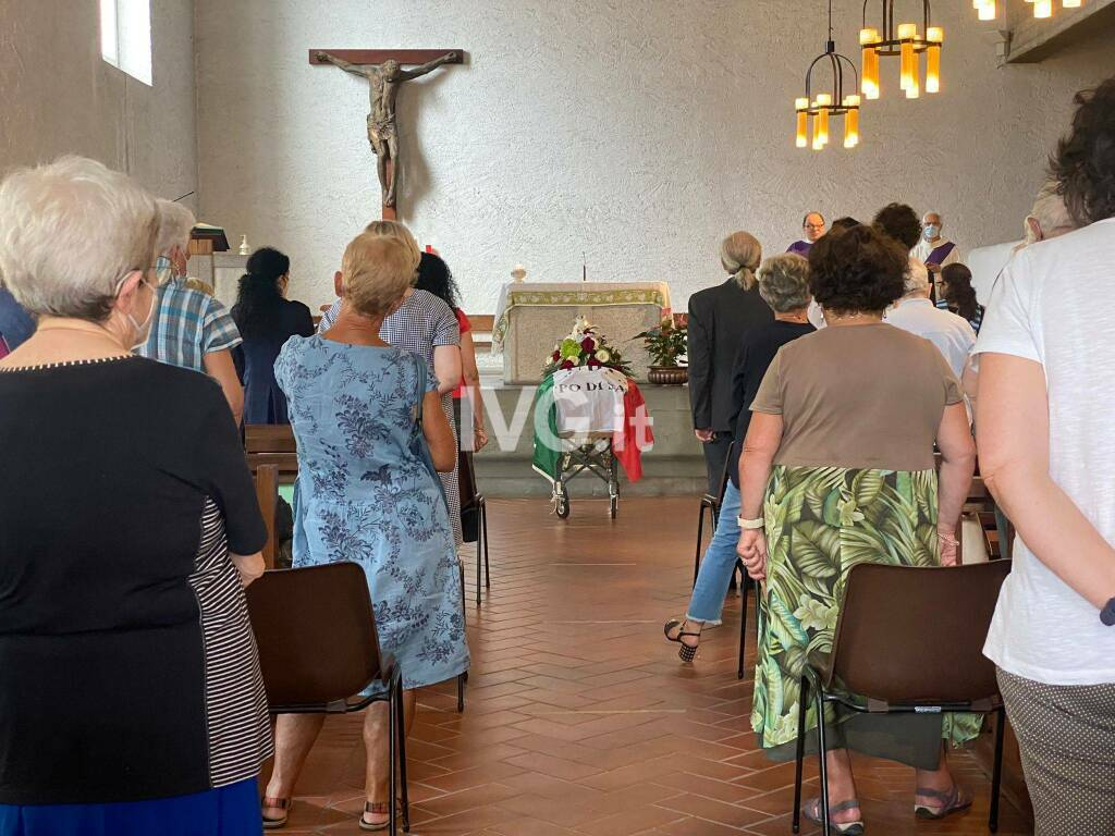 Funerale Maria Bolla