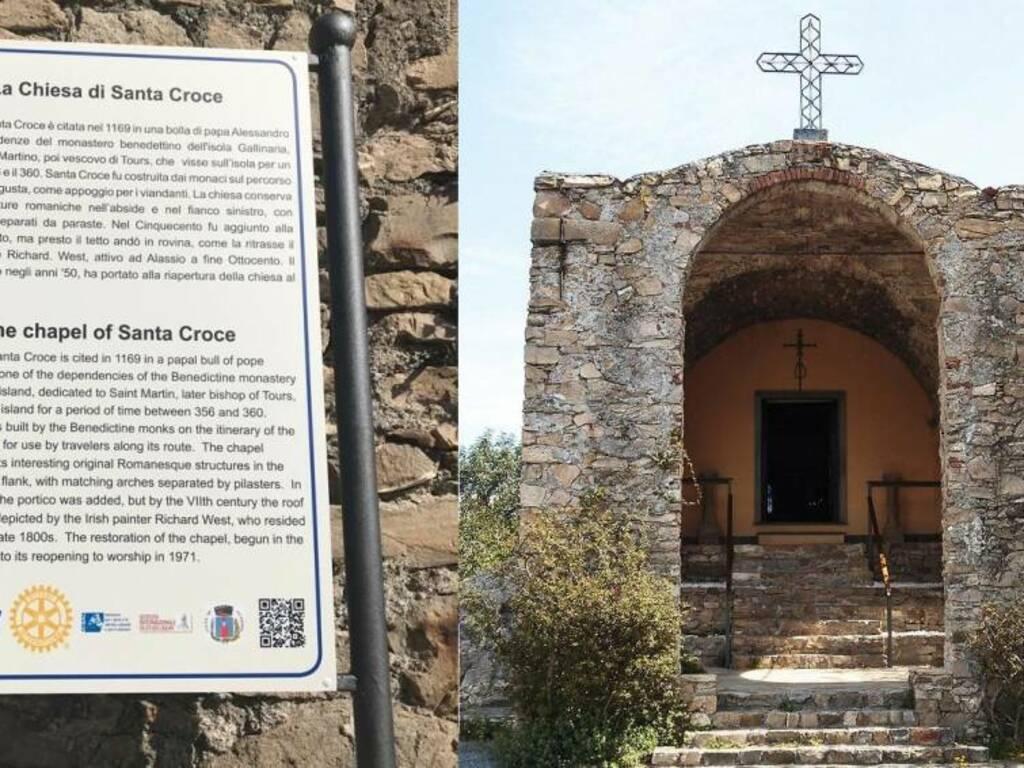 Chiesa Solva Cartello Rotary