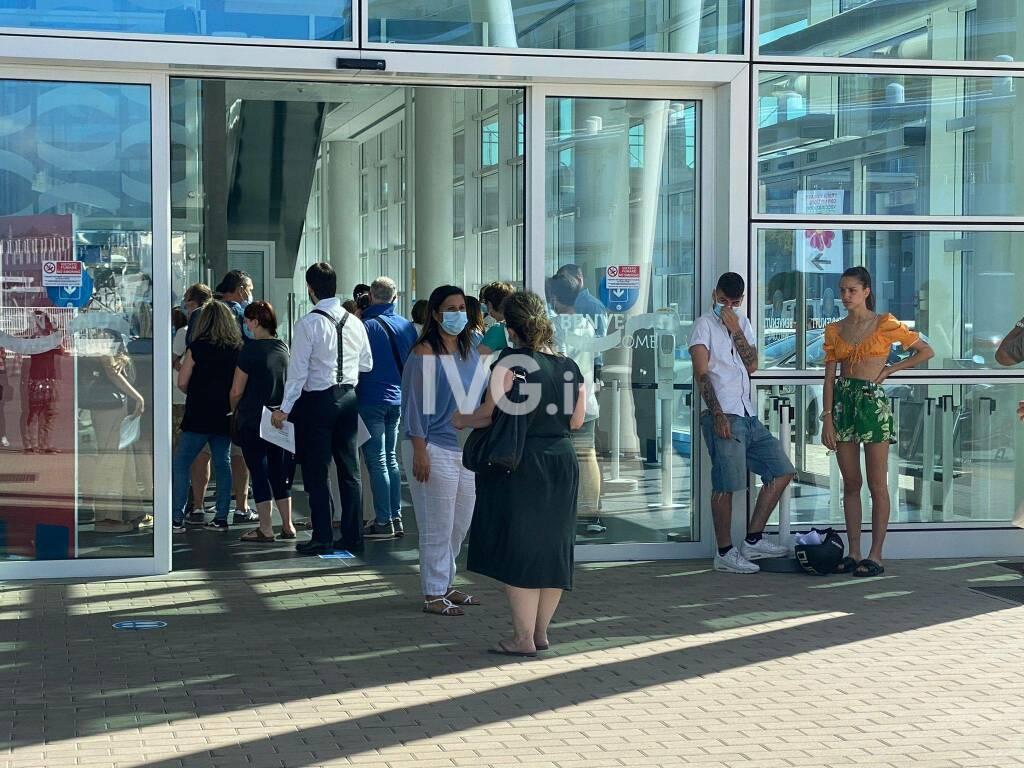 open day vaccino covid palacrociere