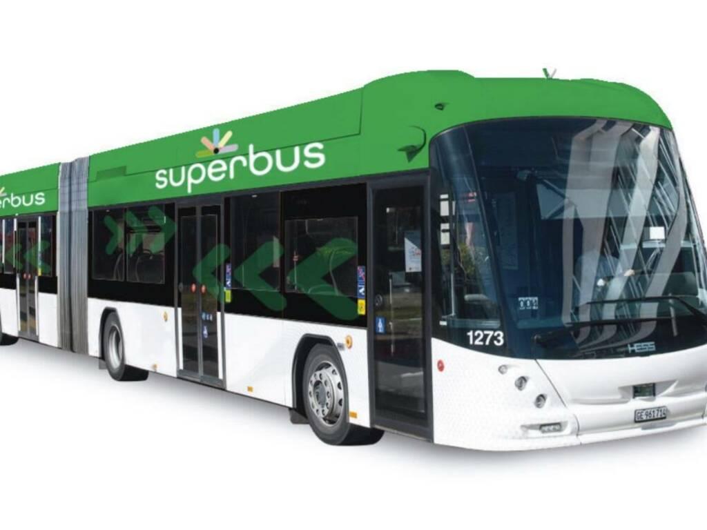superbus logo bus elettrici assi di forza
