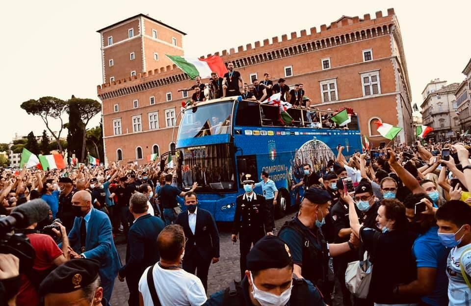 pullman nazionale roma euro 2020