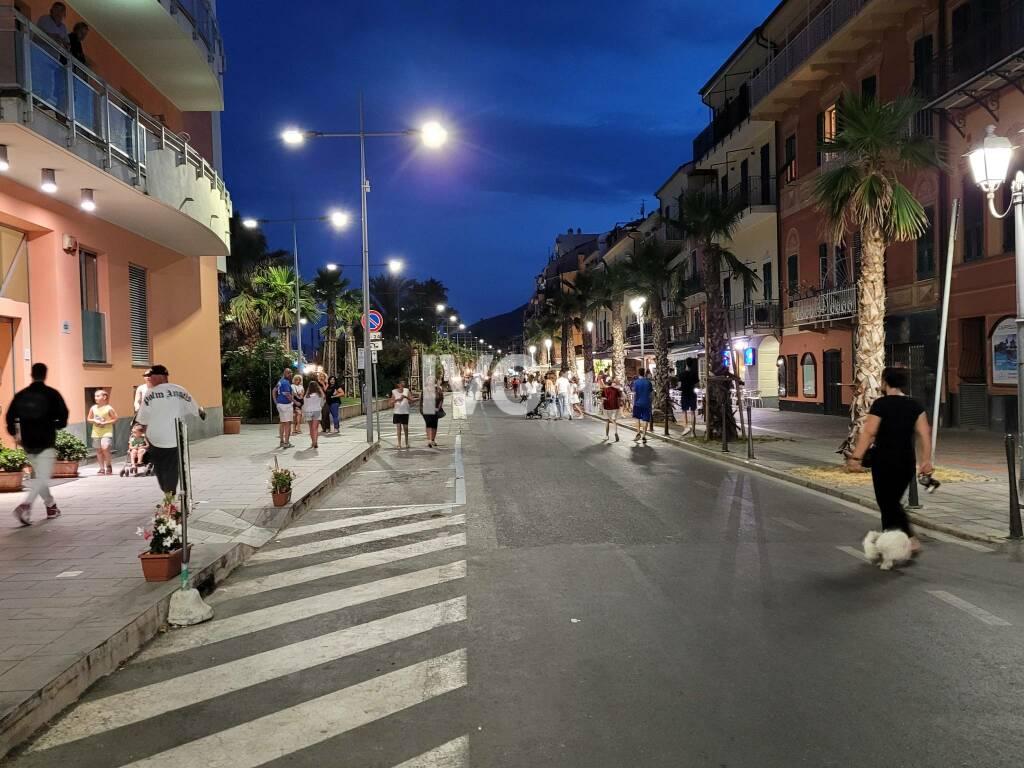 Chiusura Corso Roma Loano